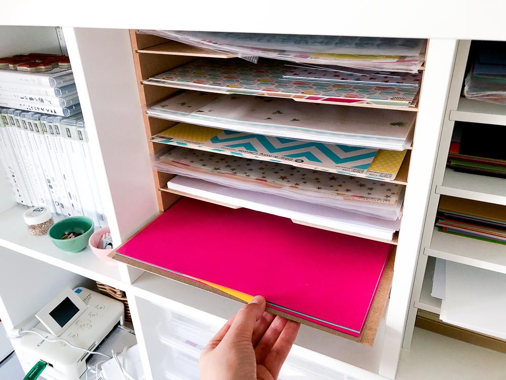 janna werner papiersalat ikea hacks von new swedish design f r ordnung im kreativzimmer. Black Bedroom Furniture Sets. Home Design Ideas