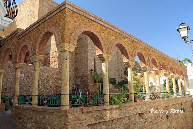 Plaza del parterre de Mojácar