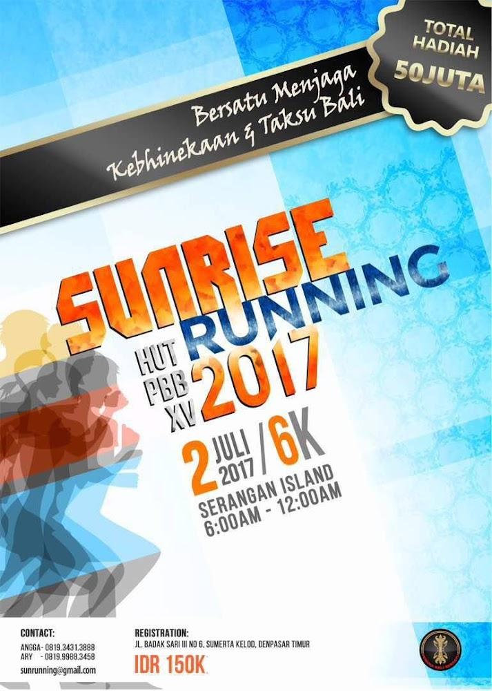Sunrise Serangan Run • 2017