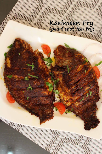 pearl spot fish fry karimeen porichath pollichath restaurant style fry fish recipe