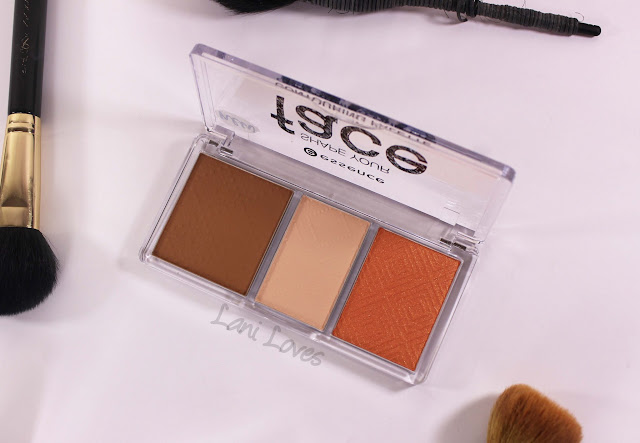 Essence Shape Your Face Contouring Palette - Ready, Set, Peach! Swatches & Review