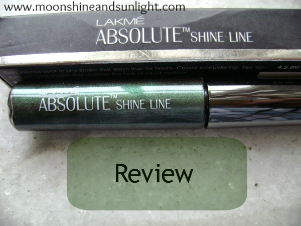 Lakme Absolute Shine Line in Olive Review