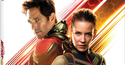 Disney's ANT-MAN AND THE WASP on Blu-ray, 4K Ultra HD on 10/16 #AntManAndTheWasp