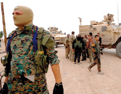 اشتباكات متقطعة بين تنظيم الدولة و قسد في دير الزور.