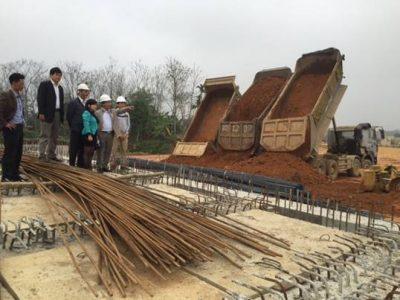 Một số công trình đang triển khai tại khu công nghệ cao Hòa Lạc