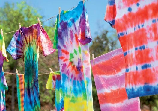 Tie Dyeing cloth