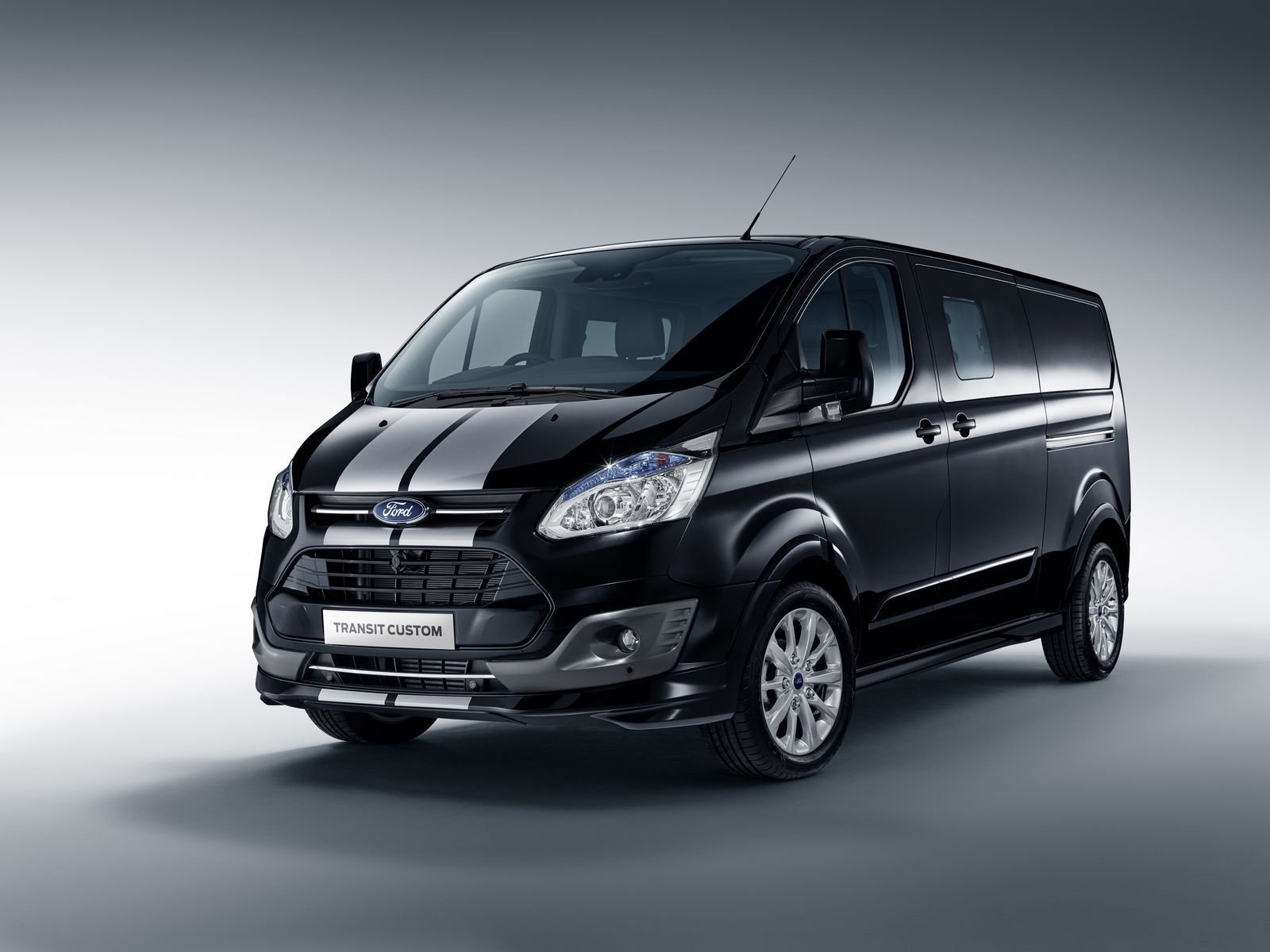 ford adds more appeal to transit with custom color and. Black Bedroom Furniture Sets. Home Design Ideas