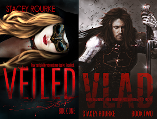 CLICK ME to find both books in the Veiled Series by Stacey Rourke!