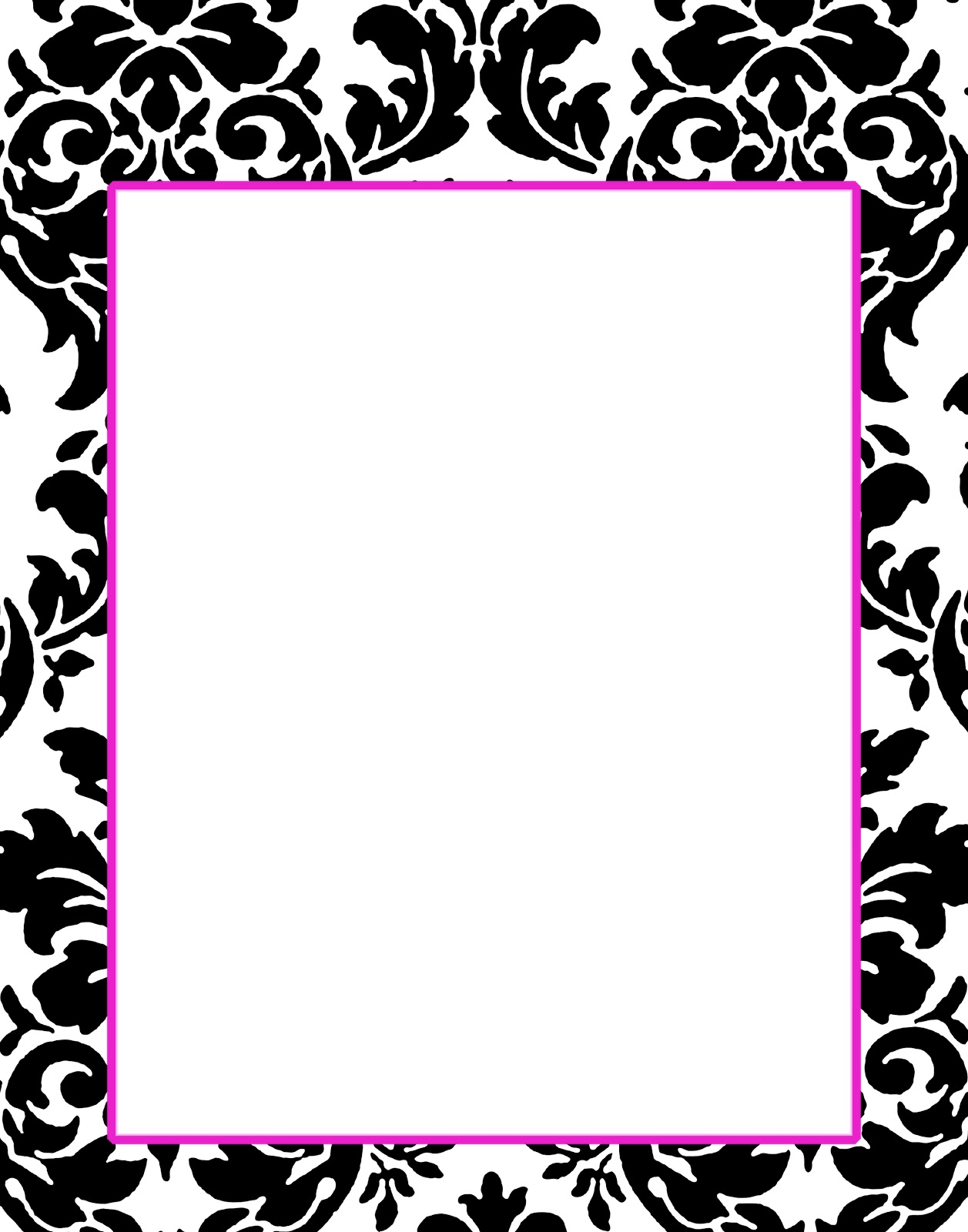 doodlecraft freebie 1 gorgeous damask invitations