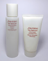 [Kurzreview] Shiseido – Extra Gentle Cleansing Foam + Hydro-Nourishing Softener