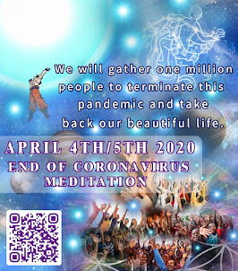 ASCENSION TIMELINE /END OF CORONAVIRUS MEDITATION VIDEOS CLICK ON THE PIC OR SCAN THE QR CODE: