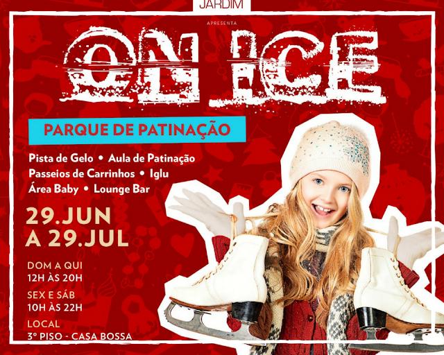 ON ICE é promovido pelo Shopping Cidade Jardim,