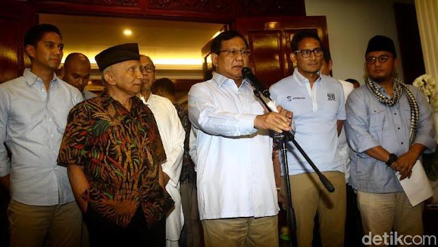 Respons Gerindra Soal Desakan Agar Prabowo Diperiksa Polisi