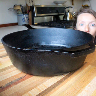 "Lodge Cast Iron 12"" Skillet"