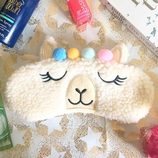 New Look Llama Eye Mask