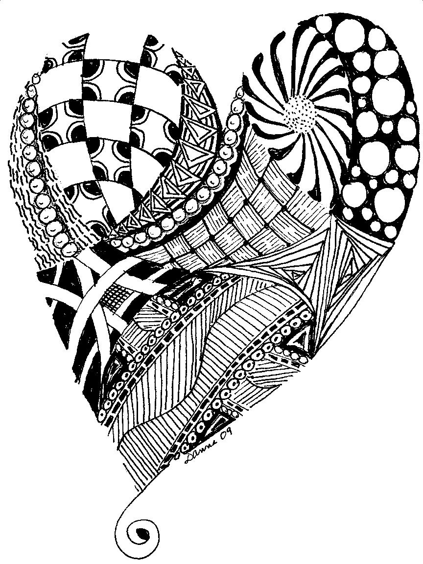 Deco Chick: Zentangle