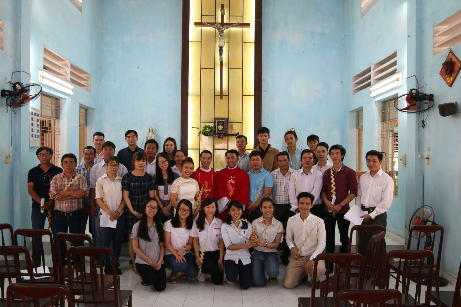 Ban di dân Giáo phận Qui nhơn tại Sài gòn họp mặt