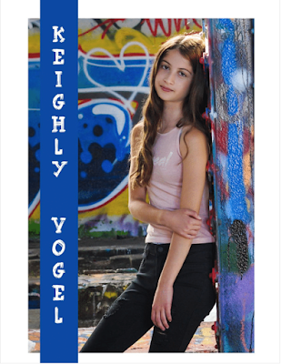Keighly Vogel in Youngstrs Magazine