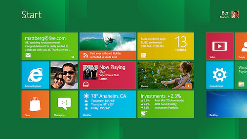 Descargar Windows 8 Developer Preview