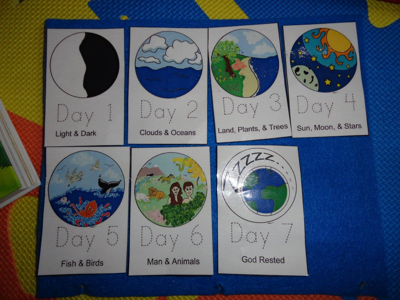 Izzie Mac And Me Creation Days 1 7