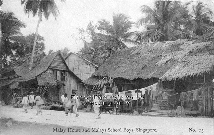 I was brought up by my parents living in simple kampong, and the people I got to know were relatives and surrounding neighbours.