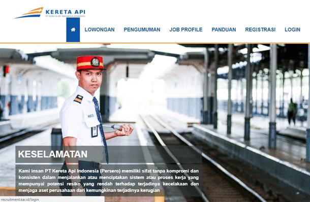 Lowongan Kerja PT Kereta Api Indonesia (Persero) Khusus Lulusan SMK