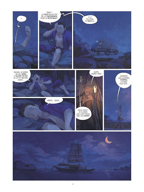 Yin et le dragon tome 2 page 8 Rue de Sèvres