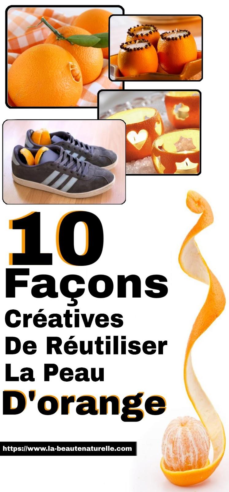 10 Façons Créatives De Réutiliser La Peau D'orange