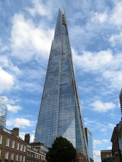The Shard or Shard of Glass by Renzo Piano, London Bridge Street, Southwark, London