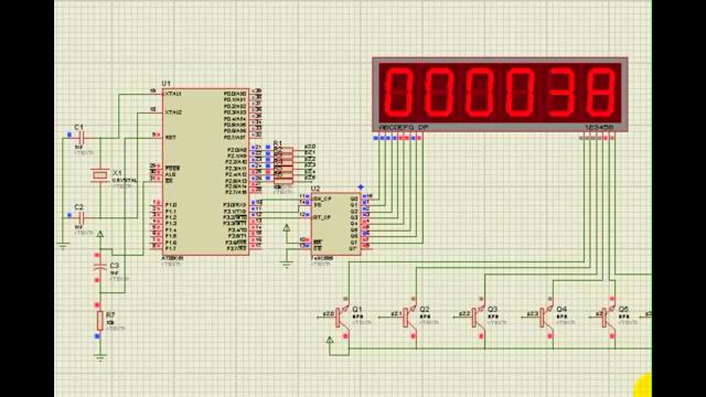 [LẬP TRÌNH 8051] Lập trình C Điều Khiển Led 7 Đoạn Đếm 0000 Đến 9999 Qua IC 74HC595