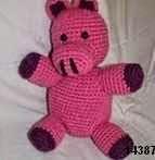 patron gratis cerdo amigurumi, free amigurumi patter pig