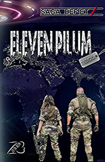 Libro Eleven Pilum, saga DEF-ET, de ZetaBon - Cine de Escritor