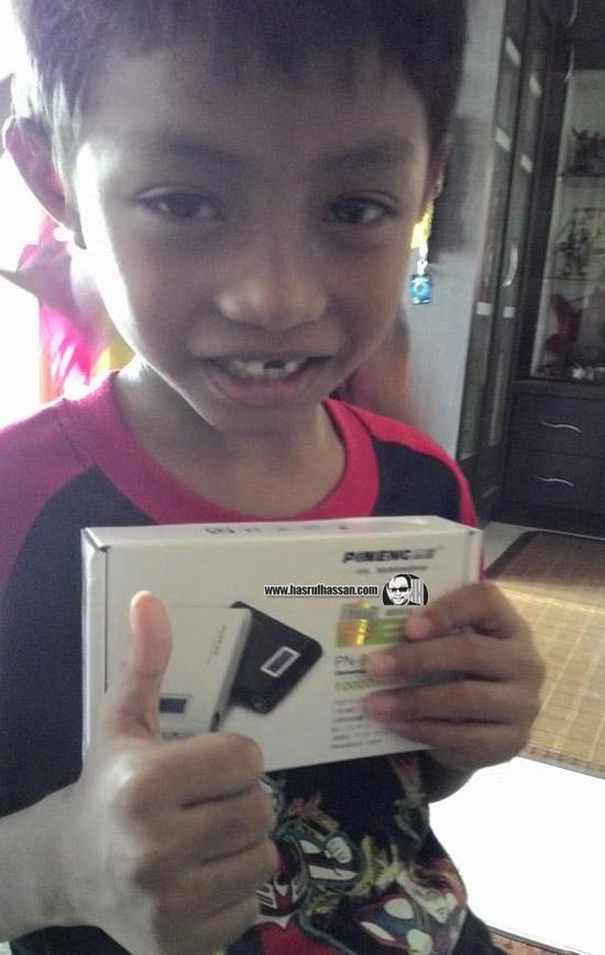 Lazada Pineng PN-913 10000mAh Berbaloi Beli