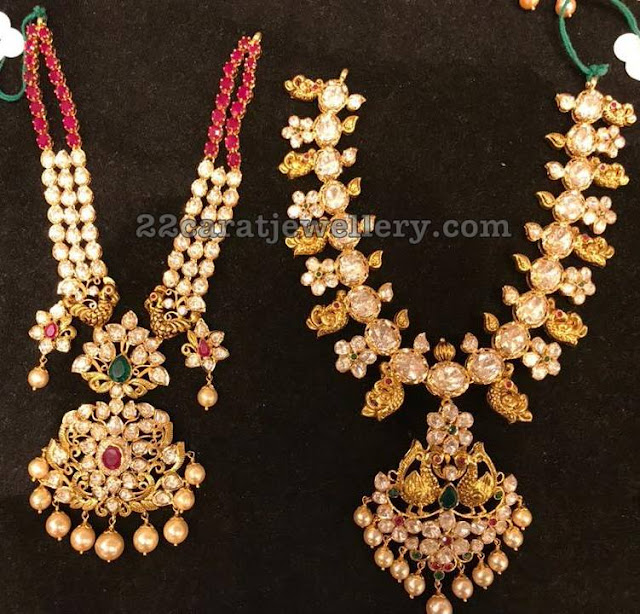 Moissanite Pachi Necklaces by Premraj Jewels