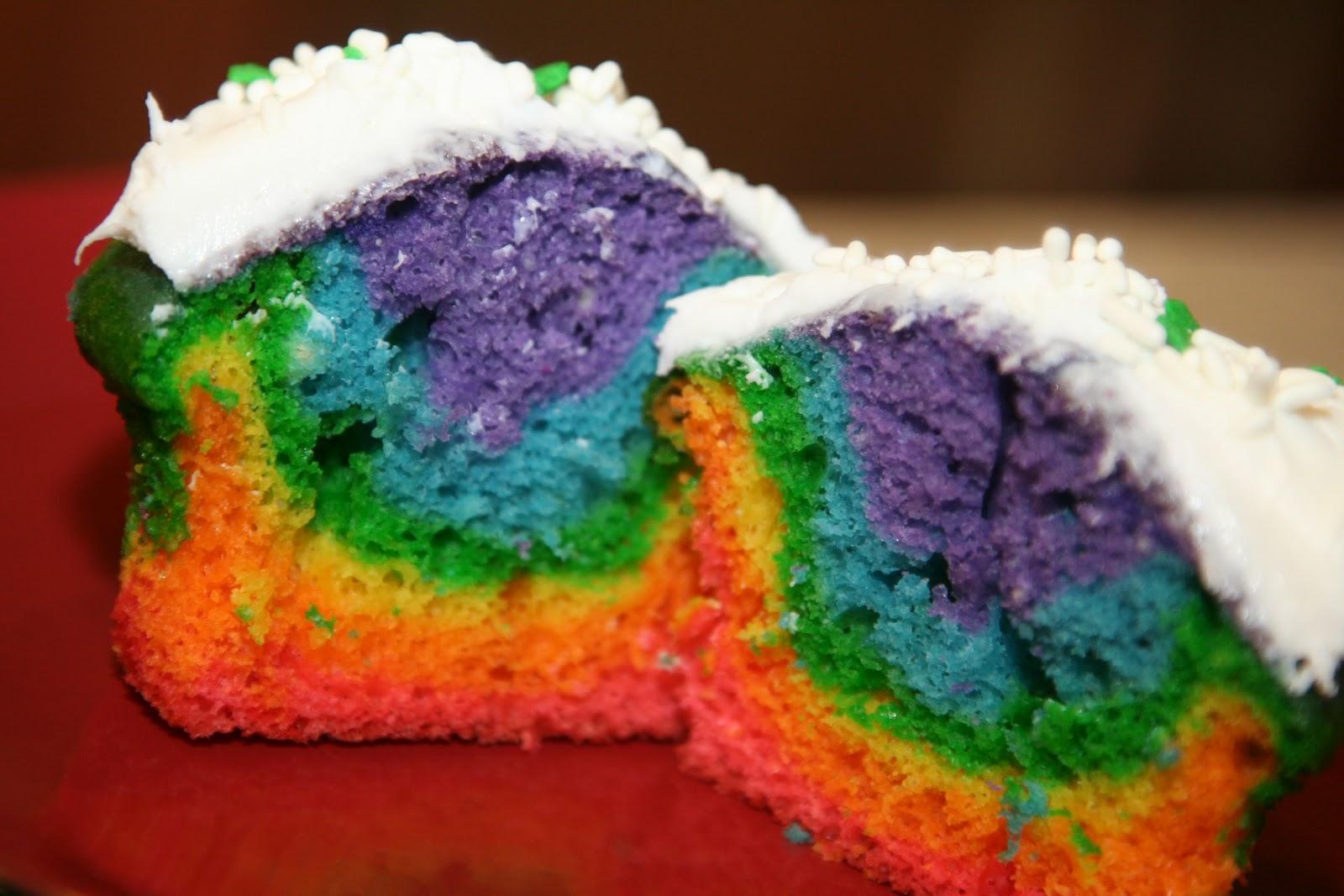 Rainbow Cake Recipe With Box Mix
