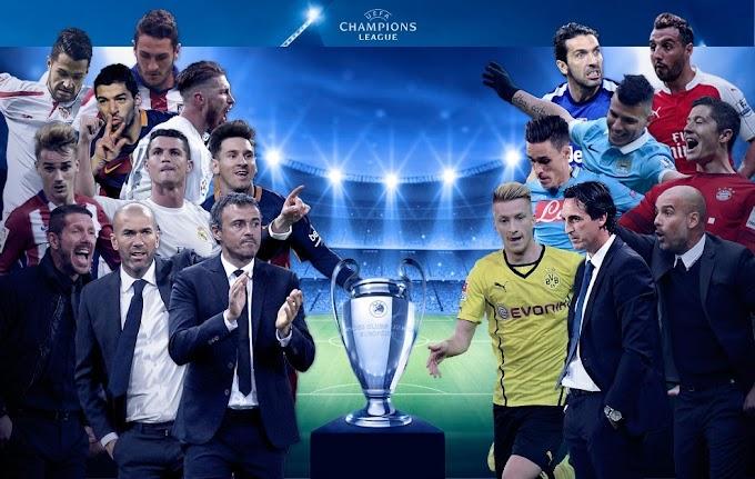 Vuelve la Champions League, programación 13 y 14 de setiembre