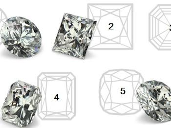 Bentuk Bentuk Pemotongan (Cut) Berlian