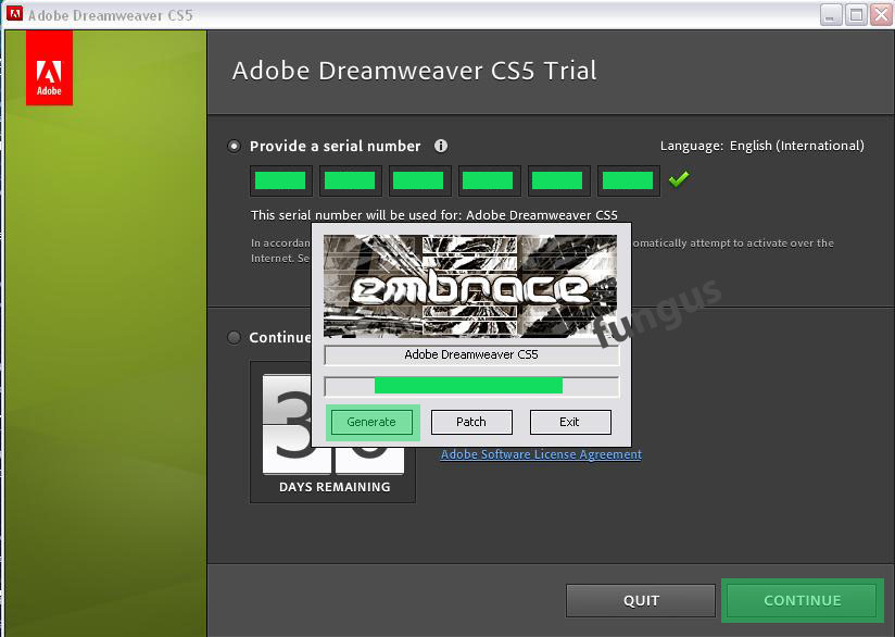 dreamweaver testversion