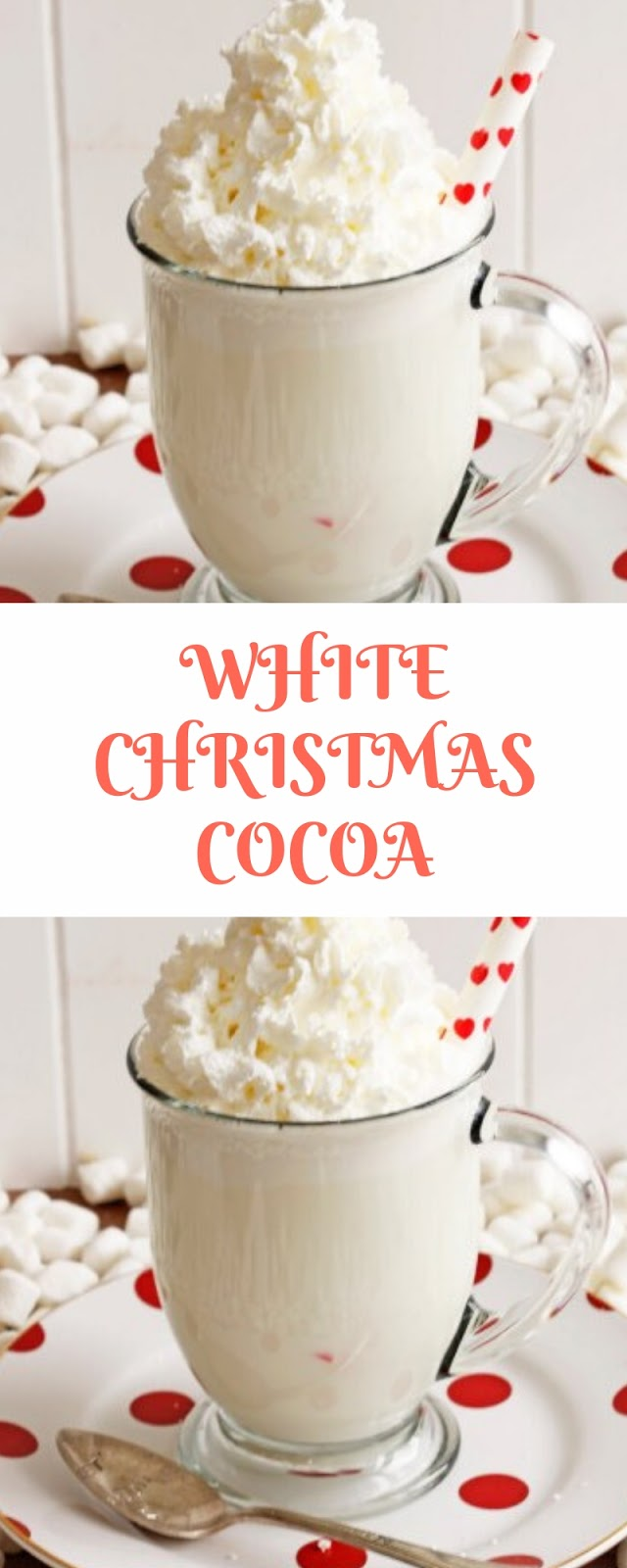 WHITE CHRISTMAS COCOA