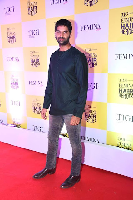 Actor Purab Kohli at Femina Salon & Spa Hair Heroes 2016