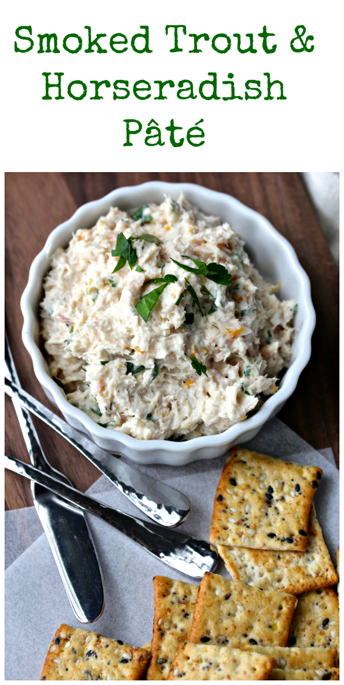 Smoked Trout and Horseradish Pâté from Karen's Kitchen Stories