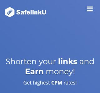 SafelinkU: Pemendek URL Terbaik dengan rate tertinggi di indonesia