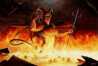 demons in hell