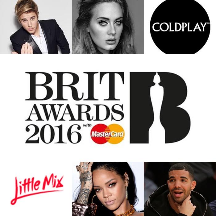 Mira las presentaciones de los Brit Awards 2016