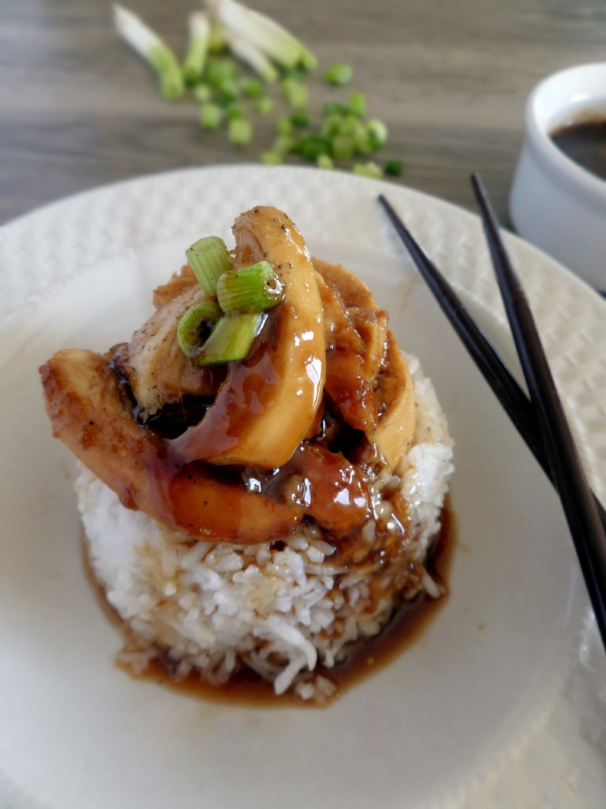 Baking with Blondie : Baked Teriyaki Chicken