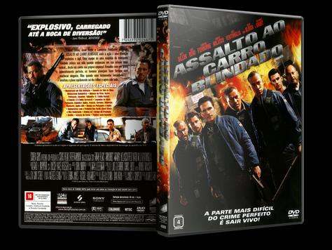Capa DVD Assalto ao Carro Blindado (Oficial)