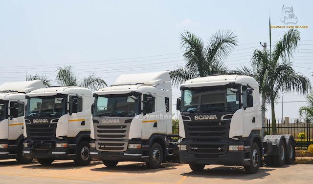Scania Trucks at Scania India Bengaluru - Part 1   Biswajit