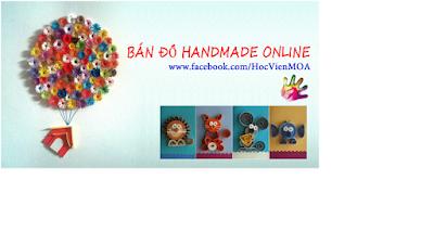 bán đồ Handmade trên mạng xã hội-xu hướng kinh doanh online không lỗi thời