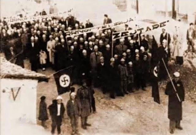 Μιλούν για «γενοκτονία» οι δοσίλογοι Τσάμηδες και θέλουν την «Τσαμουριά»!