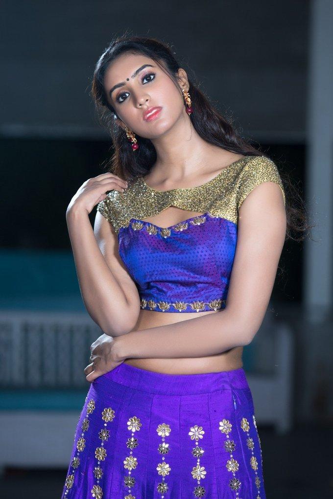 Pranathy Sharma Hot Portfolio Photoshoot